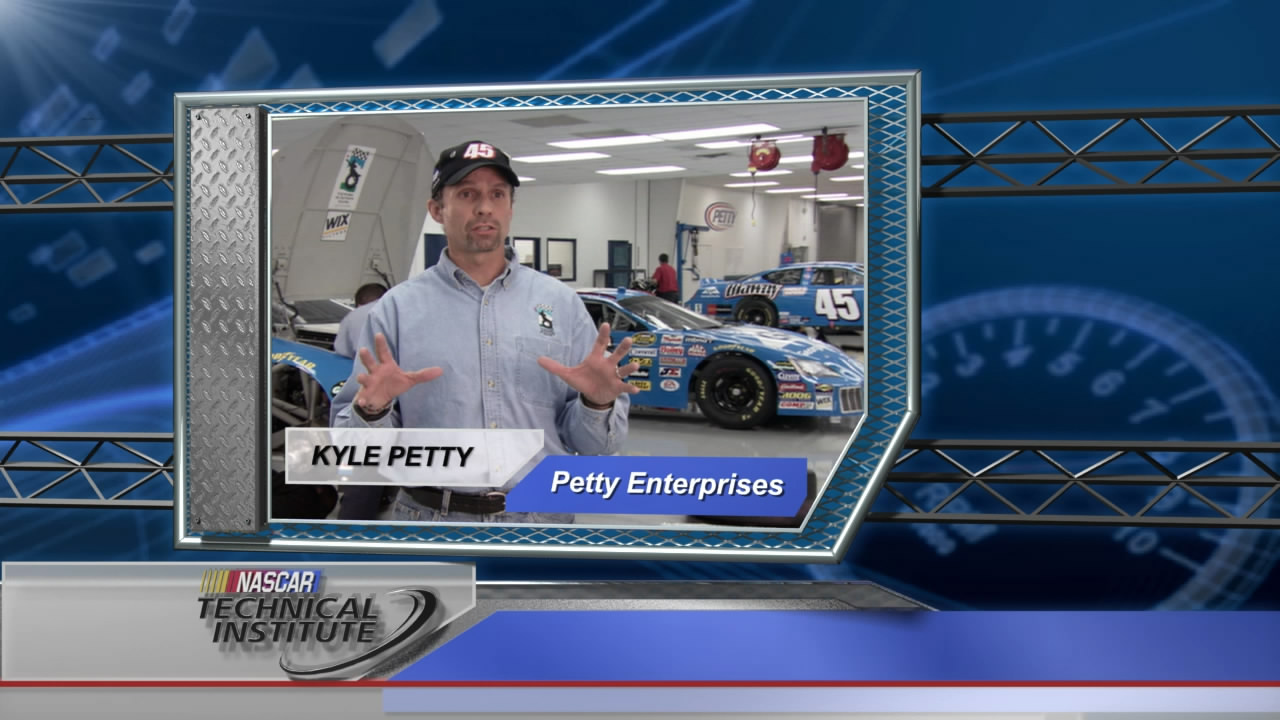 Kyle Petty - Speaking in support of NASCAR Technical Institute
