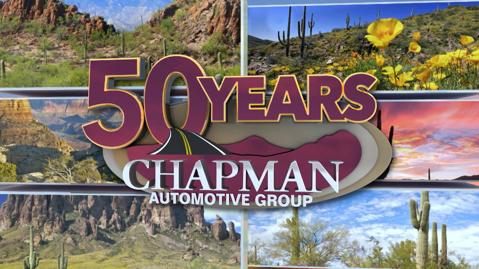 Chapman 50th Anniversary Spot