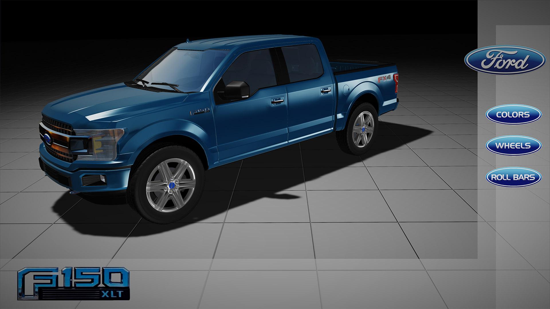 Ford Truck Configurator